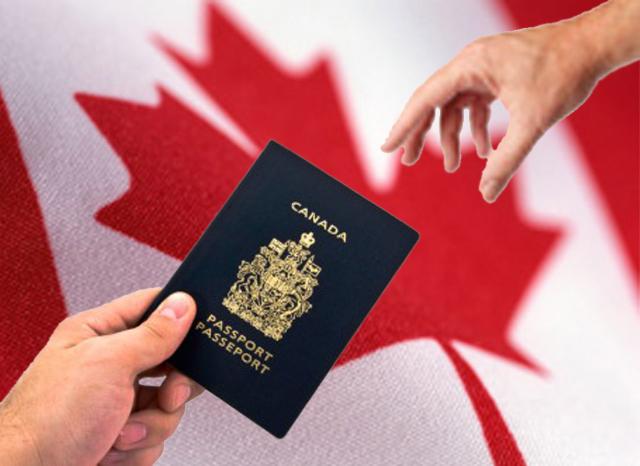 Discover Canada team receives a Public Service