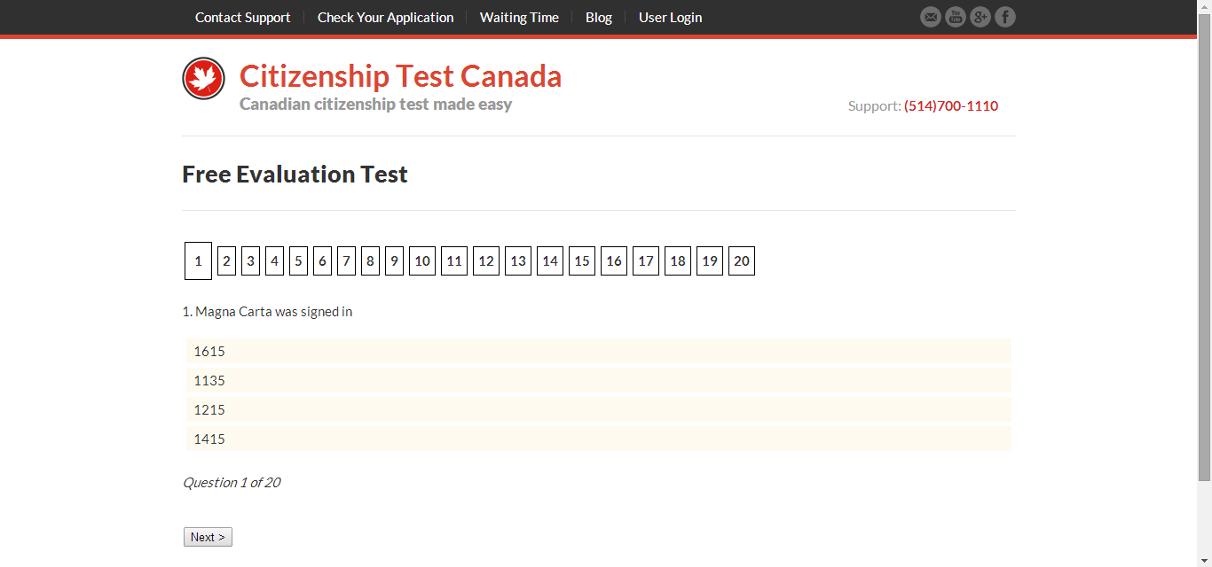 Canadian Citizenship Test - Free Citizenship Practice ...